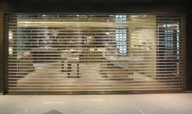 کرکره شفاف پلی کربنات
