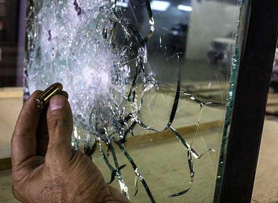 شیشه ضدگلوله