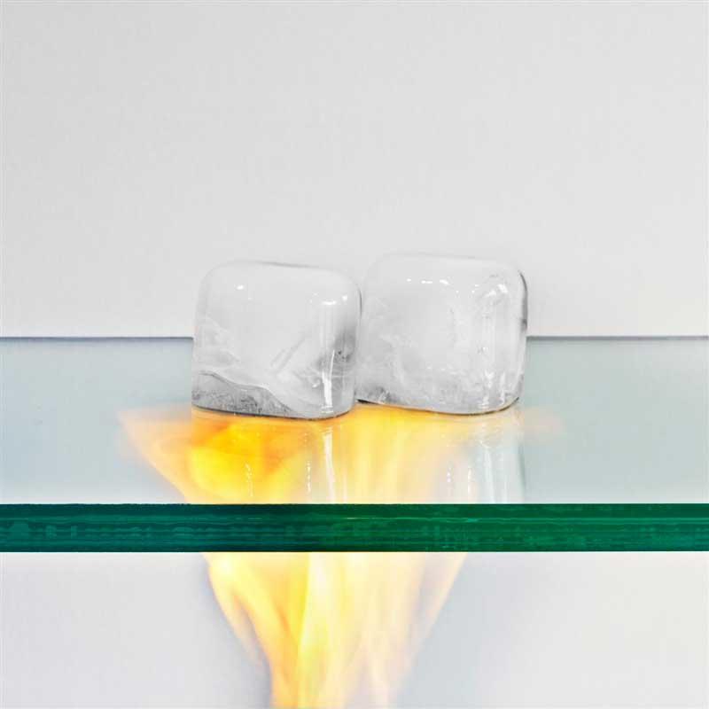 شیشه ضد حرارت