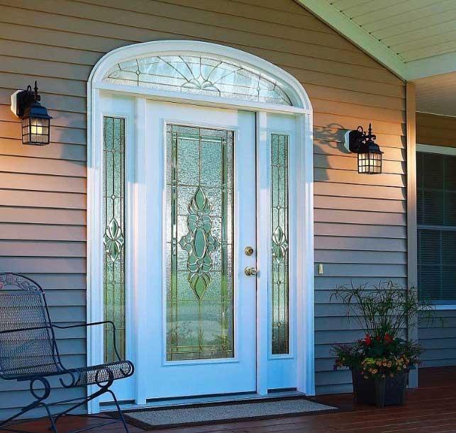 درب شیشه ای ورودی خانه