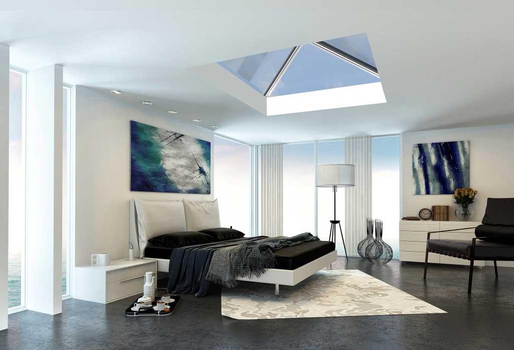 سقف-شیشه-ای-اتاق-خواب