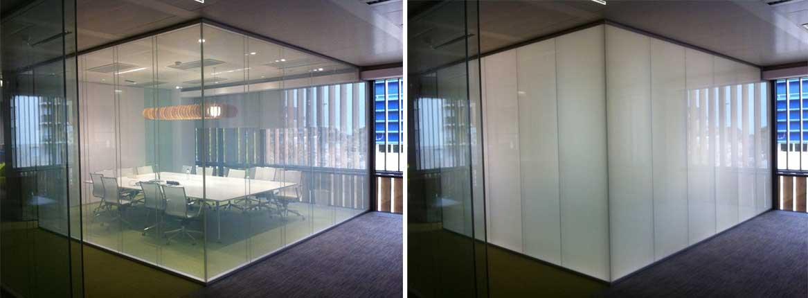 شیشه هوشمند LC