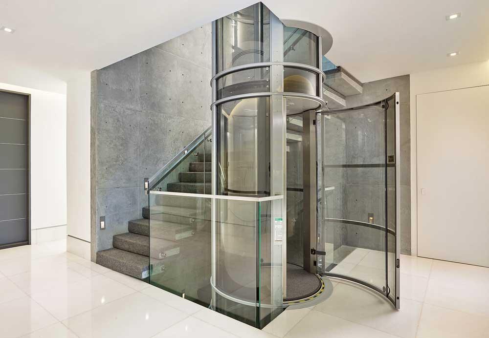 قیمت آسانسور شیشه ای