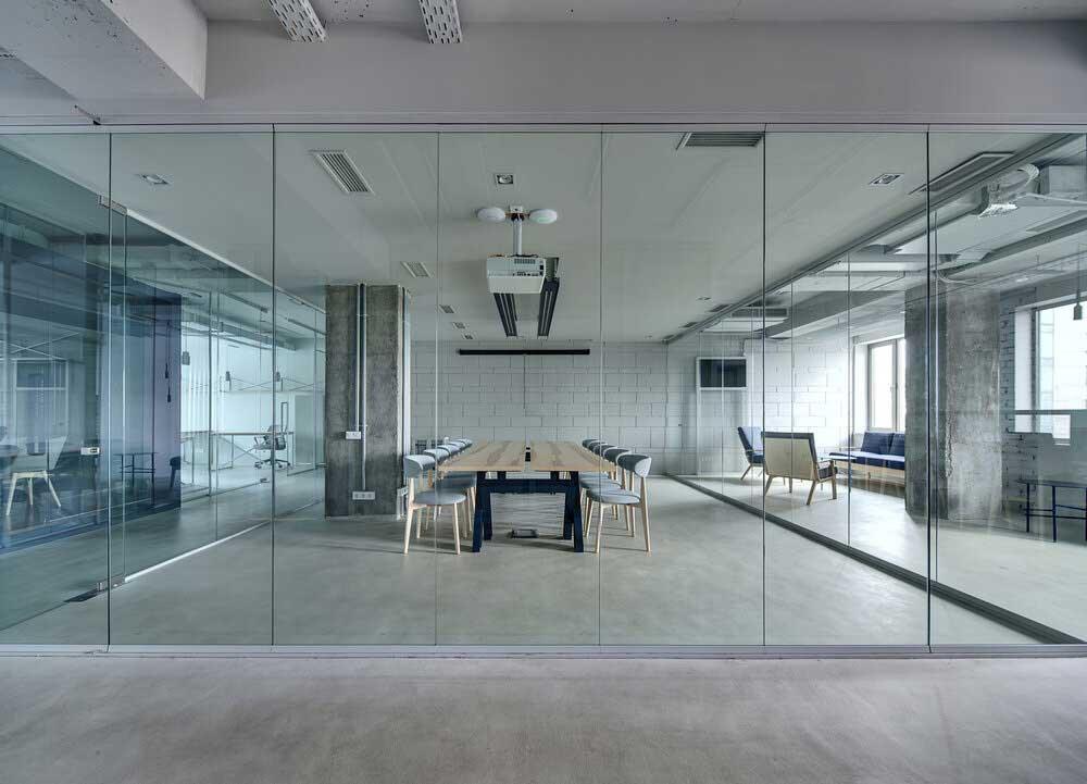 کاربرد دیوار شیشه ای